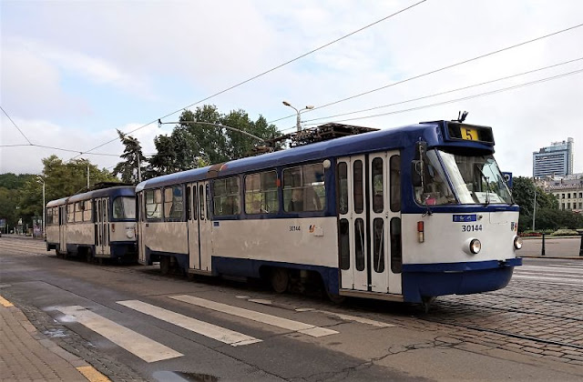 vecchio tram a riga