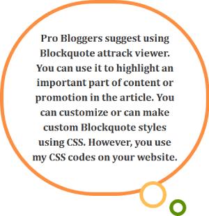 Blockquote Style