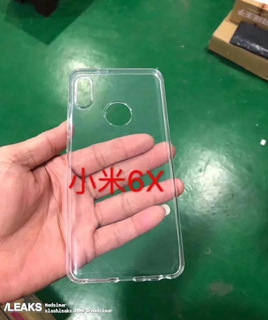 Kebocoran Hadirnya Perangkat Xiaomi Mi 6X Terlihat Penutup Belakang Ponsel