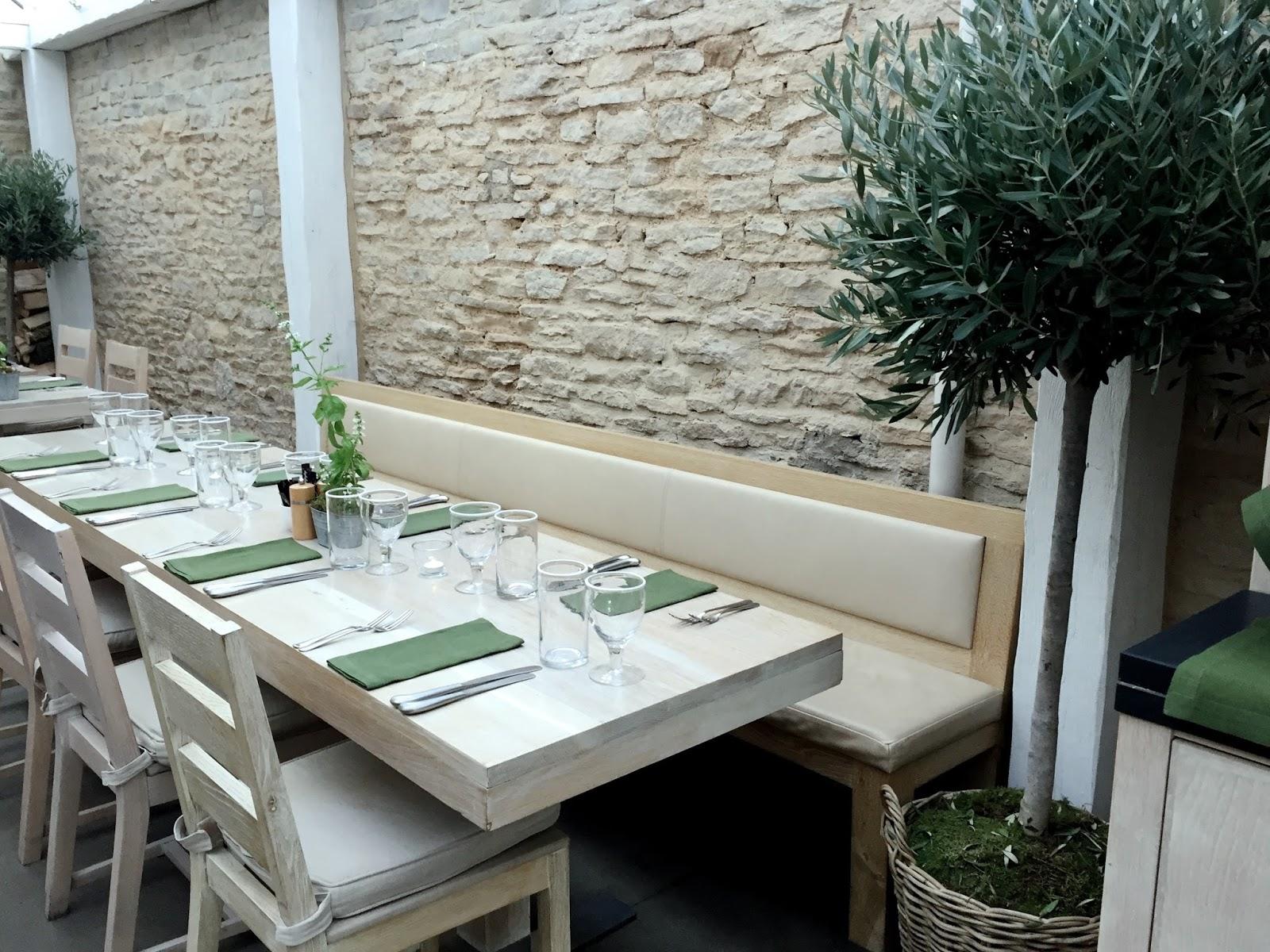 Daylesford Farm Old Spot Restaurant Tables