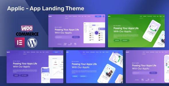 Best App Landing WordPress Theme