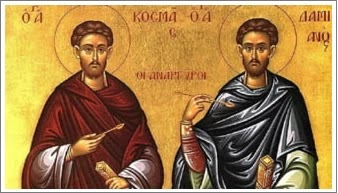 November 1 is a religious holiday. The saints celebrated today