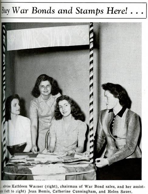 Loyola college coeds support the war effort, 22 May 1942 worldwartwo.filminspector.com