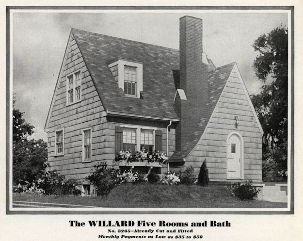 Sears Willard 1932 Sears Modern Homes catalog