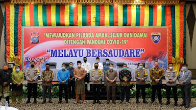 Melayu Bersaudare Dalam Pilkada Serentak 202 Ditengah Pandemi Covid-19*
