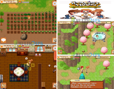 Harvest Moon Seeds of Memories APK+Data Android