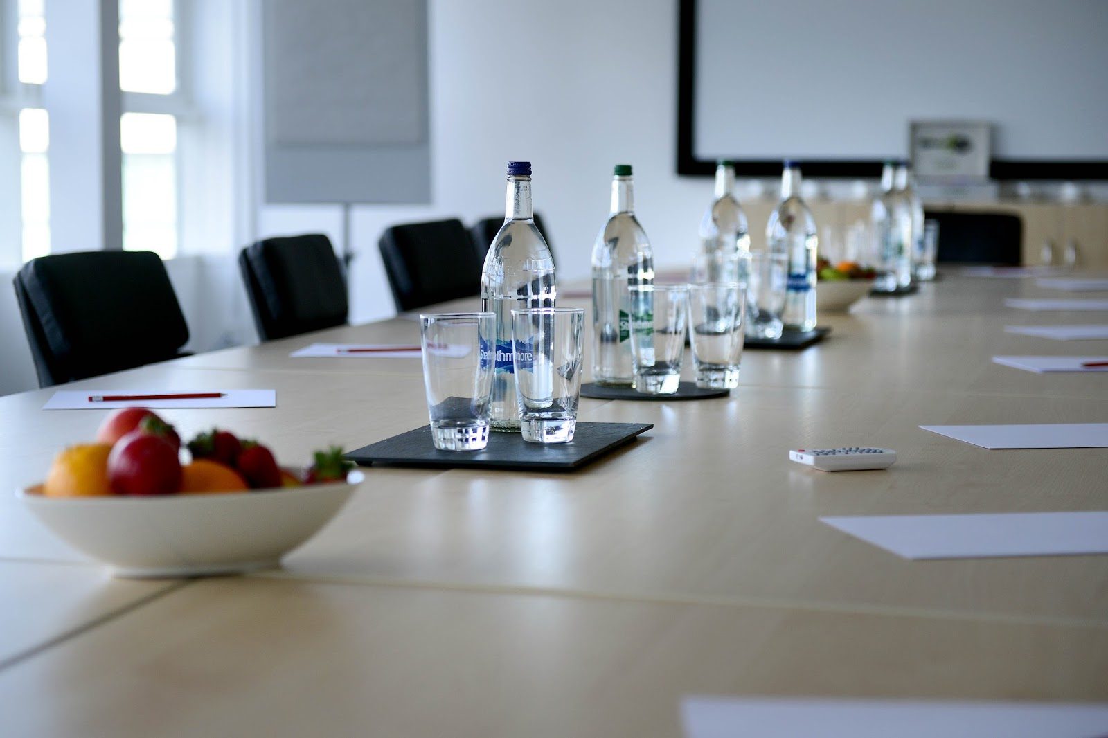 Conference Room Table D Model Free Download