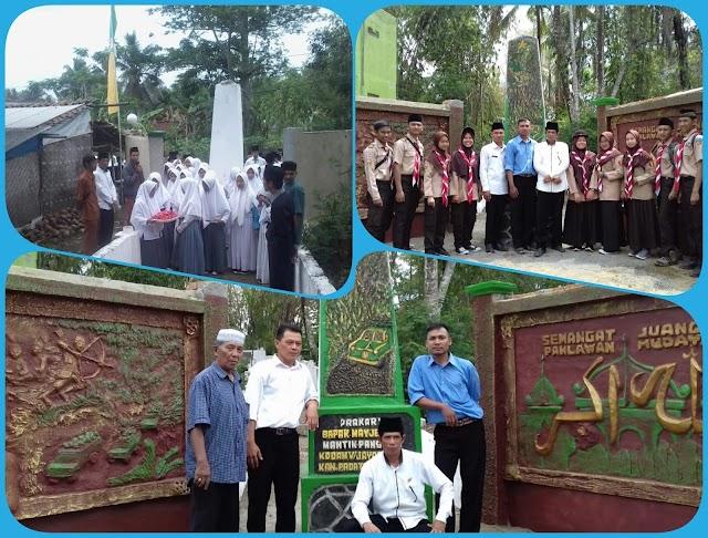 LPM Desa Rancapaku dan PEPABRI Membangun TMP Mayjen Hudaya Secara Swadaya