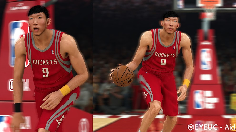 Zhou Qi Cyberface, Hair and Body Model By Aid [FOR 2K21]