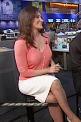 CNBC's Michelle Caruso-Cabrerra on set.