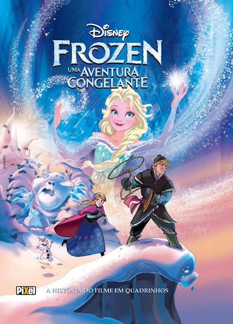Frozen A História do Filme em Quadrinhos Disney