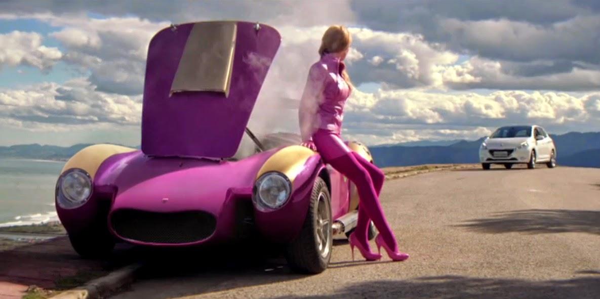 Fashion And Action Rad Peugeot 208 Car Ad Creates Live