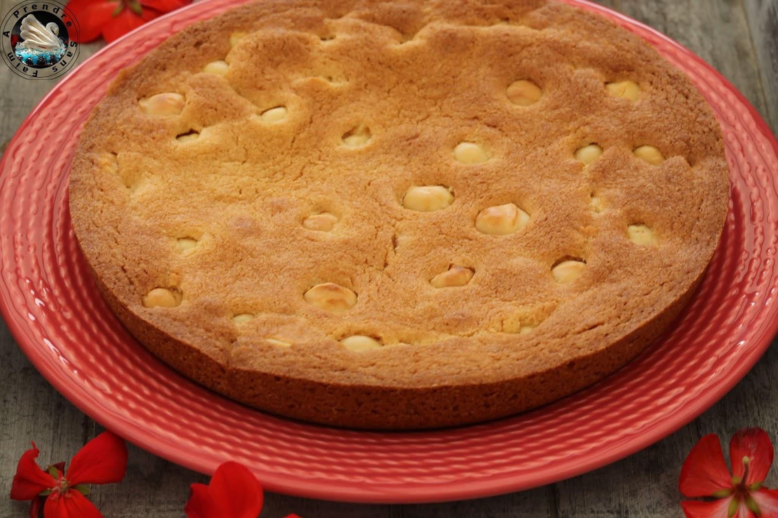 One pan cookie vanille noix de macadamia