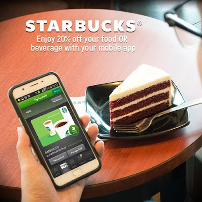 Starbucks Malaysia Mobile App Payment Discount Offer Promo