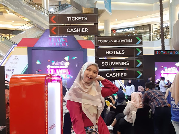 Liburan Kian Seru dan Hemat bareng Mister Aladin Travel Fair 2019