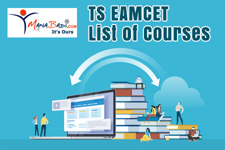 TS EAMCET List of Courses