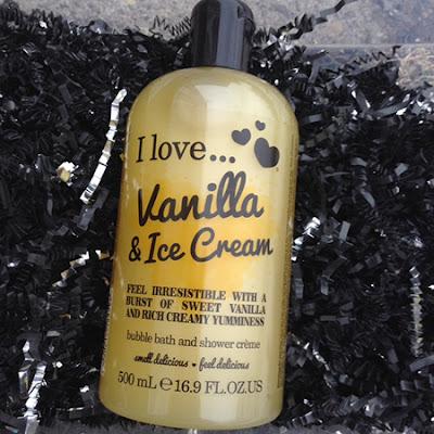 I love...(Cosmetics) Vanilla & Ice Cream Bubble Bath/ Shower Gel