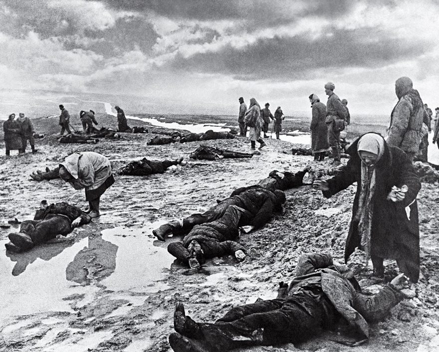 #68 Grief, Dmitri Baltermants, 1942 - Top 100 Of The Most Influential Photos Of All Time