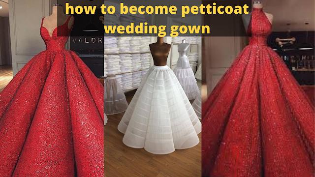 تعلم كيفية تفصيل كلوش فستان زفاف بنايق 2020