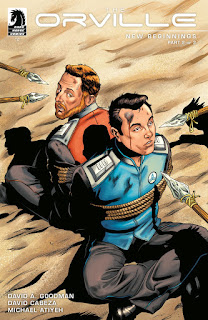 The Orville #2: New Beginnings Part 2 cover from Dark Horse