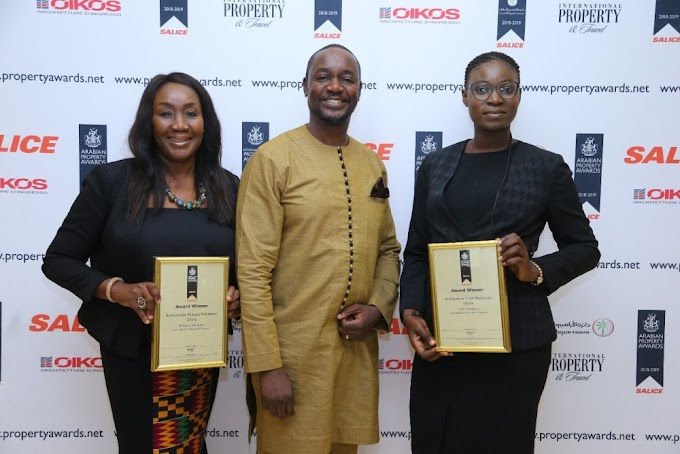 Ghana's Incept Architectural Consult wins Arabia Property Awards in Dubai