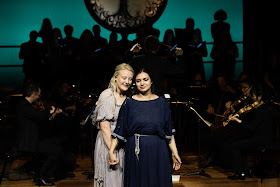 Gluck: Orfeo - Kiandra Howarth, Lena Belkina - The Mozartists (Photo Benjamin Ealovega)