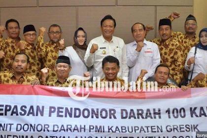 11 Pendonor Darah Asal Gresik Akan Menerima Satya Lencana Kebaktian Sosial Dari Presiden Jokowi