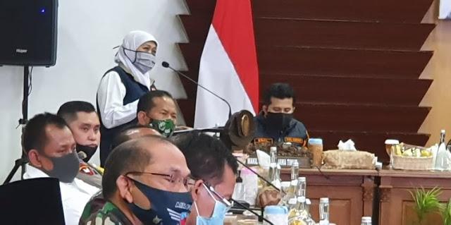 Khofifah Minta Bantuan Pusat Intervensi Lonjakan Corona di Jatim, Terutama Surabaya