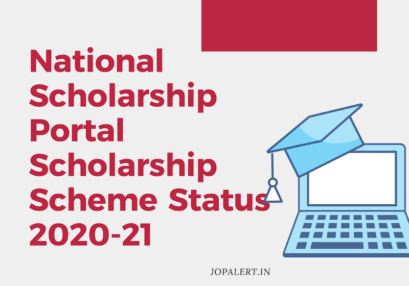 National Scholarship Portal Scholarship Scheme Status 20-21