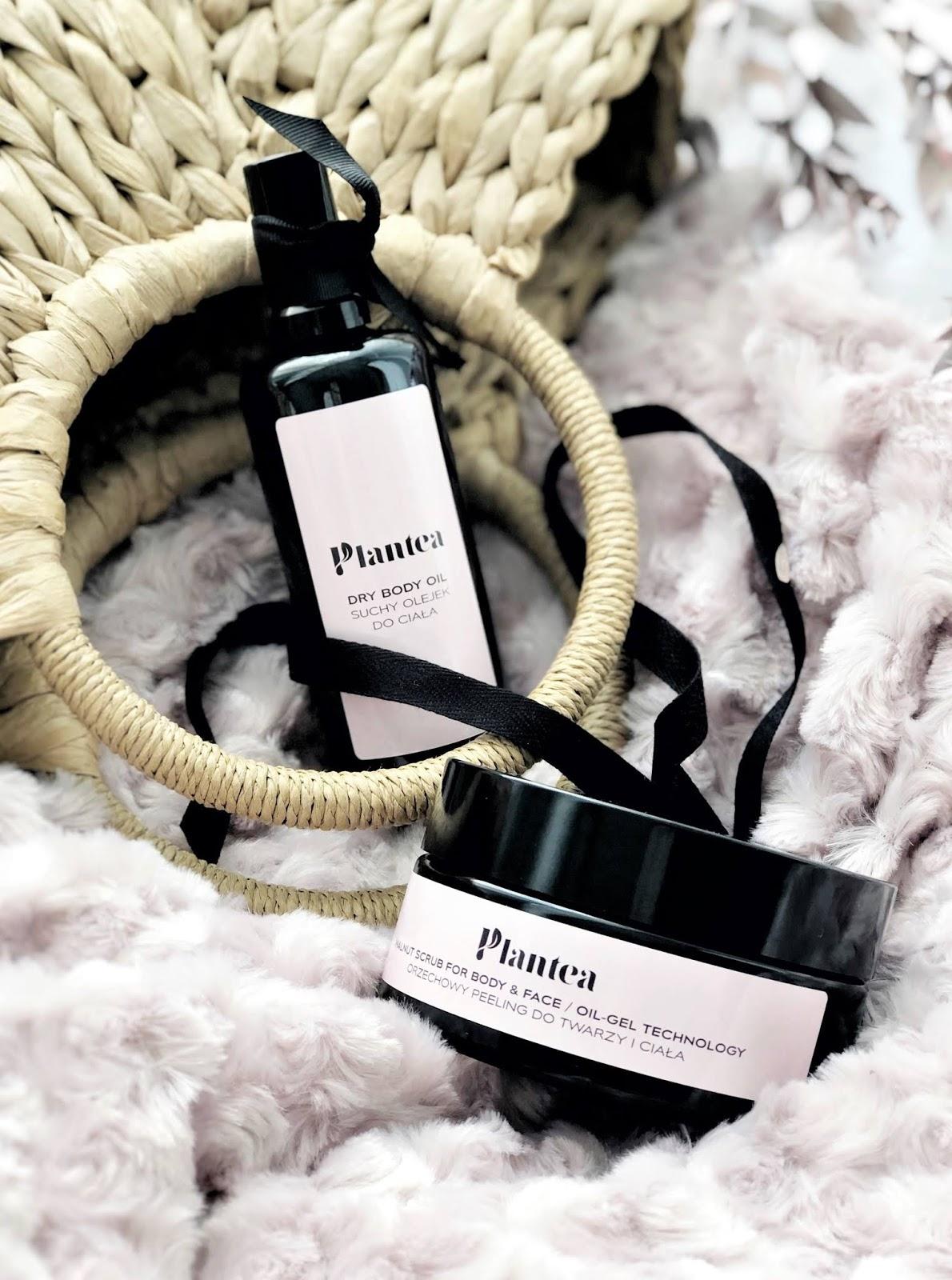 Pielęgnacja ciała z Plantea: peeling orzechowy i suchy olejek