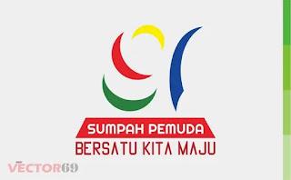 Logo Hari Sumpah Pemuda (HSP) ke-91 Tahun 2019 - Download Vector File CDR (CorelDraw)