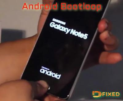 Bootloop android karena IC eMMC rusak
