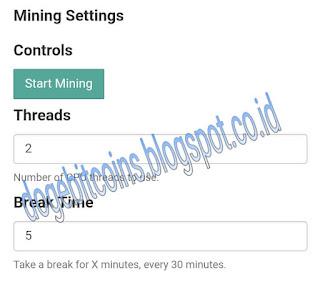 Cara setting Mining Monero di Faucethub