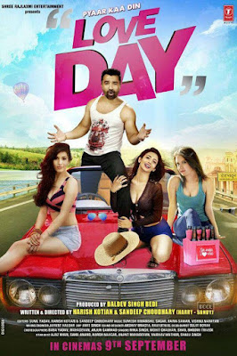 Love Day Pyaar Ka Din 2016 Hindi WEB HDRip 480p 400mb