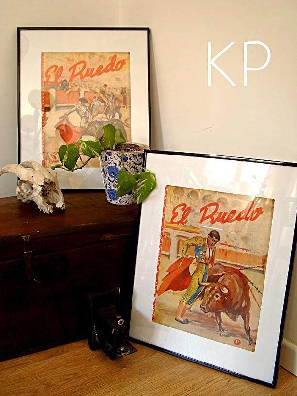 Láminas vintage y posters antiguos para decorar pared de forma original.