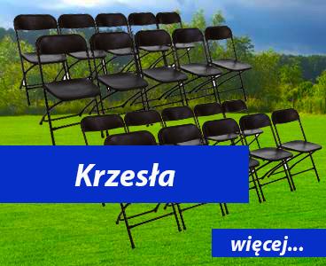 Krzesła składane Dmuchańce Wrocław