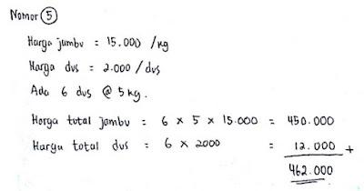 Contoh Soal Psikotes Matematika dan Jawabannya 4