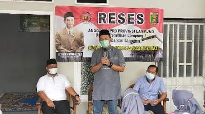 Syarif Hidayat Gelar Reses Perdananya di Tahun 2021