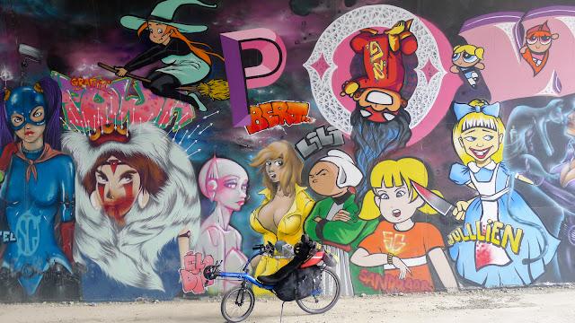 De Paris à Narbonne en vélo, Street Art