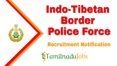 ITBP Recruitment notification 2020, govt jobs in India, central govt jobs, defence jobs, govt jobs for 10th pass,