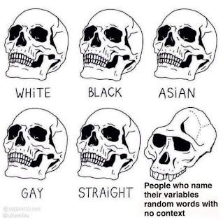 random variable name memes
