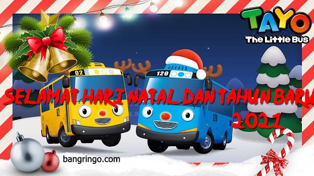 Selamat Hari Natal dan Tahun Baru 2021 - Tayo-tayo Version