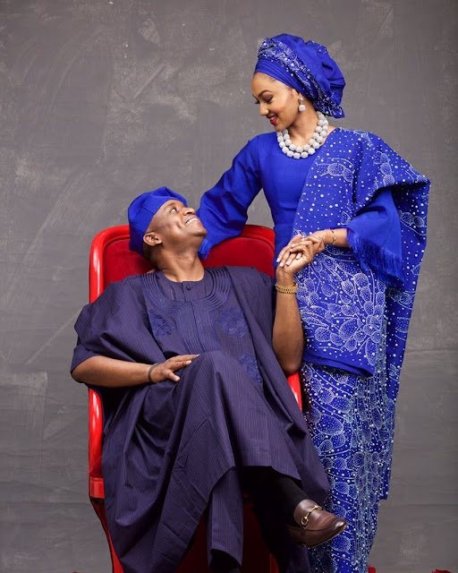 Buhari's Daughter And Husband Celebrate 4th Wedding Anniversary With Cute Photo