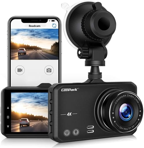 Review Campark DC10Pro UHDDashboard Camera for Cars