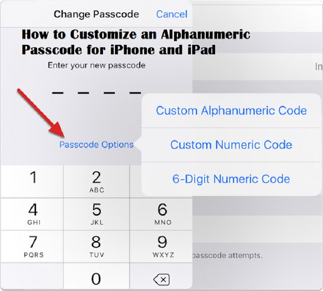 How to Customize an Alphanumeric Passcode for iPhone and iPad