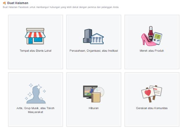 Cara Hade Membuat Fanspage Facebook Untuk Blog