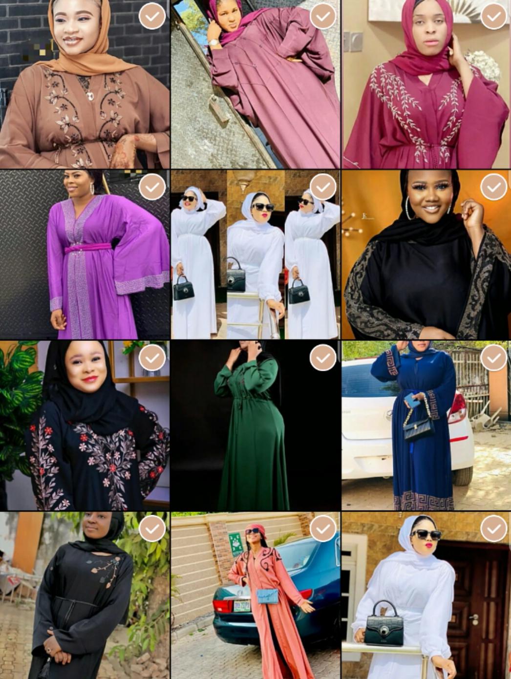 Abaya Challenge: Duba Sabin Abaya, Da Ya Dace Saurayinki Ya Saya Miki