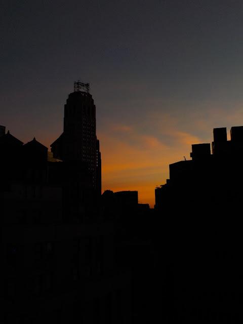 Západ slnka Manhattan