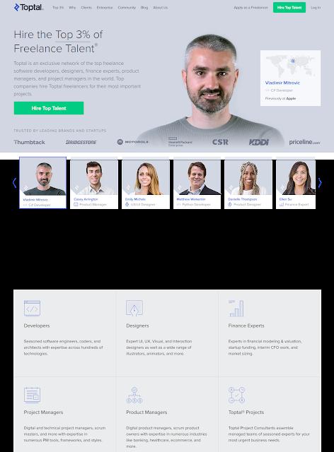 Toptal is one of the Best Freelancing Website