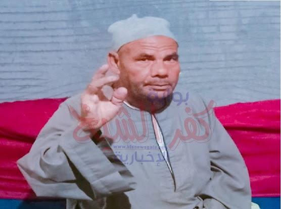 البطل عبدالفتاح يشير بمكان إصابته
